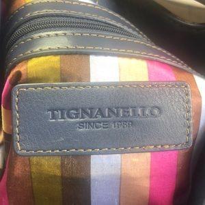 Tignanello Bags - Tignanello Blue Purse